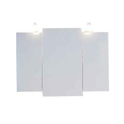 """Бергамо Зеркало-шкаф со светильниками """"Бергамо B10з"""""""