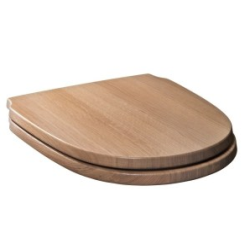CONTEA Сиденье без микролифта деревянное корич