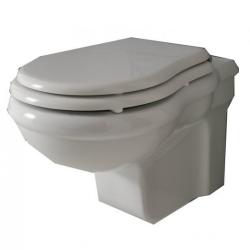 CONTEA Унитаз подвесной, белый+ белое сиденье
