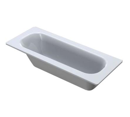 Чугунная ванна Continental (Roca) 150x70