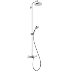 Croma 220 Showerpipe для ванны, поворотный держатель 400 мм душевая сиcтема