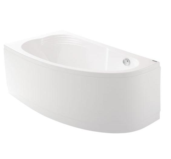 Акриловая ванна Delicia (Jika) 140*80 левая