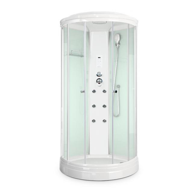 Душевая кабина Domani-Spa Delight (Россия) 90x90 белые стенки