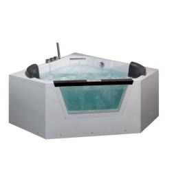 Акриловая ванна  AМ156JDTSZ Eago  с гидромассажем 150*150