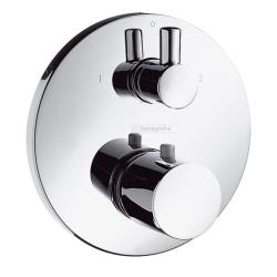 Ecostat S Термостат встр с запорным вентилем/переключающим вентилем