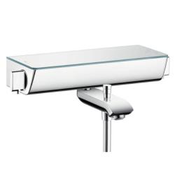 Ecostat Select Термостат для ванны+полочка бел