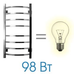 Energy Grand Полотенцесушитель 800*400