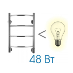 Energy H Полотенцесушитель chrome G5 34W