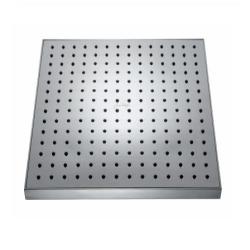 EO душ квадратной формы, форсунки с антиизвестковым покрытием