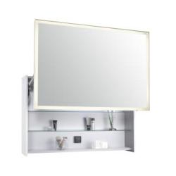 Escale Зеркальный шкаф 100x65x19 см белый