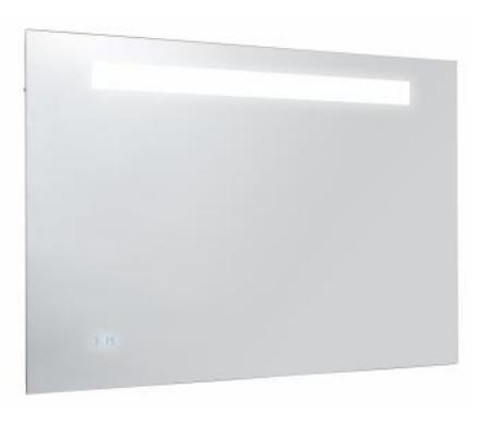 Formilia Зеркало подсветка, часы 80*4*65