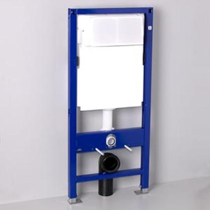 Комплект Duofix 100 для унитаза смыв 3/6л, 120 см