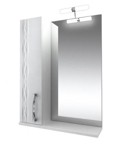 Кристи Зеркало 65 с подсветкой шкаф левый