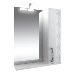 Кристи Зеркало 65 с подсветкой шкаф правый
