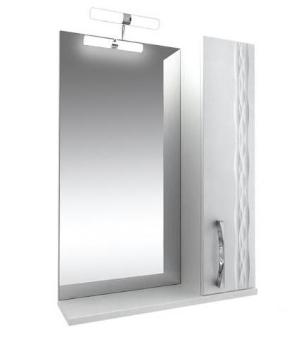 Кристи Зеркало 70 с подсветкой шкаф правый