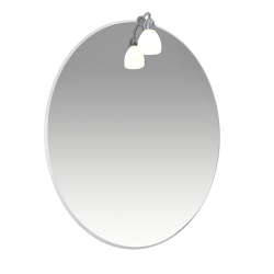 Лира 55 Зеркало со светильником