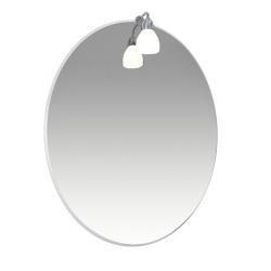 Лира Зеркало 50 со светильником