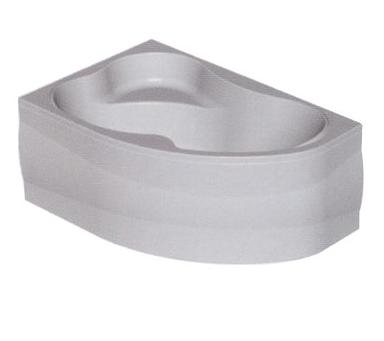 Акриловая ванна Lulu D (Kolpa-San) 170x100 правая + панель