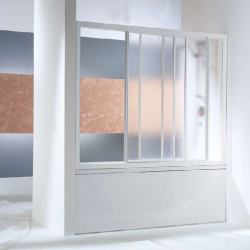 LUNA TV 3D 150  Душевая шторка с 2-я профилями