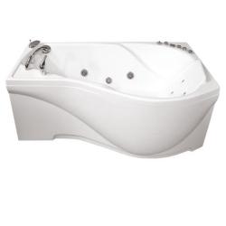Акриловая ванна Мишель Экстра  (Тритон) 170x96 левая