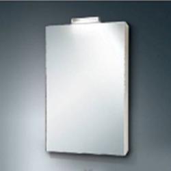 Odeon Up Аптечка зеркальная со светильником /52,4*73,4*15,5/ лак бел