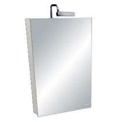 Odeon Up Аптечка зеркальная со светильником /50*65*14,2/ лак бел