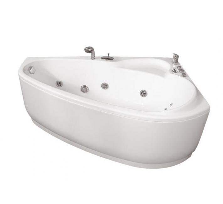 Акриловая ванна Пеарл-Шелл  Экстра (Тритон) 160x104 левая