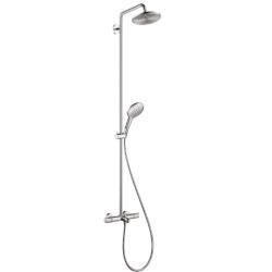 Raindance Select S 240 Showerpipe для ванны, поворотный держатель 450 мм, душевая сиcтема