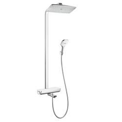 RaindanceSelect  Showerpipe 3600 Душевая сиcтема c термостатом для ванны бел/хр