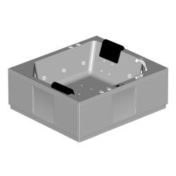 Акриловая ванна Samson (Kolpa-San) 180x160 Elite