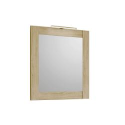 Симфония Зеркало в рамке. сосна беленая 700*800