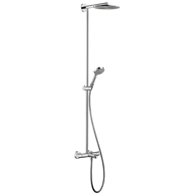 Sowerpipe стойка для душа с термостатом (верх. душ Raindance AIR 240 мм. ручной душ 100)