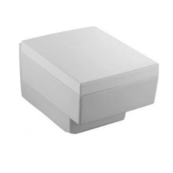 Terrace Крышка/сиденье микролифт, с металлическими шарнирами (бел)