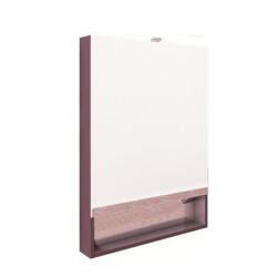 The Gap Зеркальный шкаф 700, фиолет.