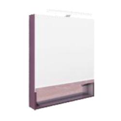 The Gap Зеркальный шкаф 800, фиолет.