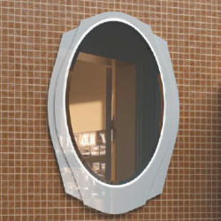 Тондо Зеркало 76 белое