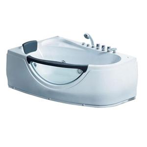 Акриловая ванна Gemy G 9046 B RH с гидромассажем 160*95