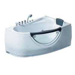 Акриловая ванна Gemy G 9046 B LH с гидромассажем 160*95