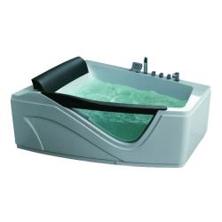 Акриловая ванна Gemy G 9056 K RH с гидромассажем 170*130