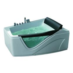 Акриловая ванна Gemy G 9056 K LH с гидромассажем 170*130