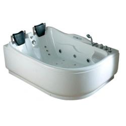 Акриловая ванна Gemy G 9083 K RH с гидромассажем 180*122