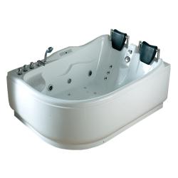 Акриловая ванна Gemy G 9083 K LH с гидромассажем 180*122 air