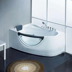 Акриловая ванна Gemy G 9046-II B LH с гидромассажем 170*100