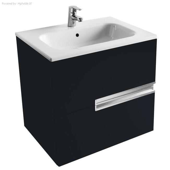 Victoria Nord Модуль для раковины 600 Black Edition (черный)