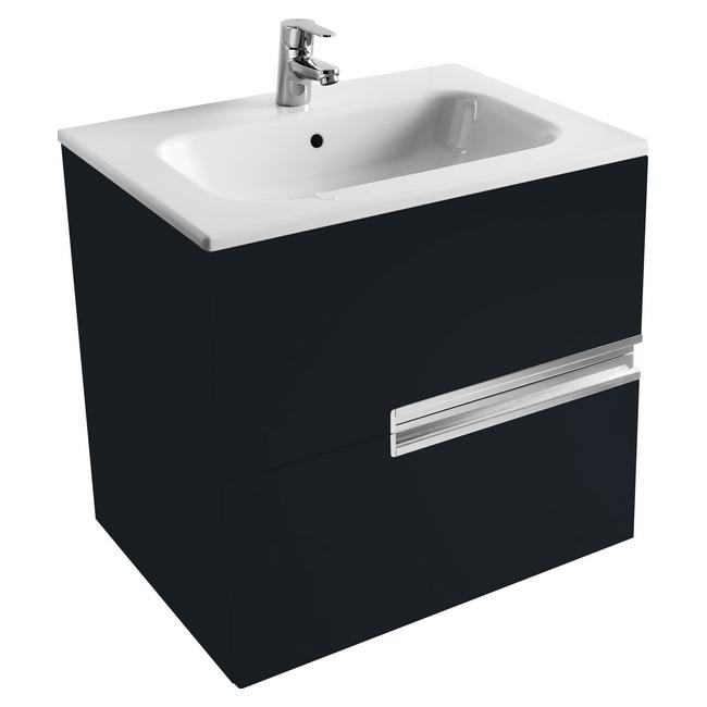 Victoria Nord Модуль для раковины 800 Black Edition (черный)