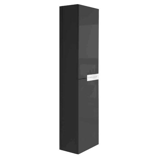 Victoria Nord Шкаф-колонна Black Edition (черный)